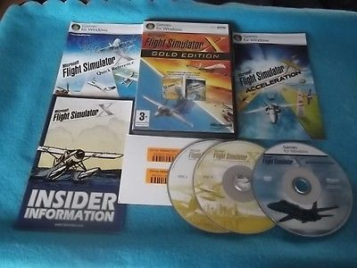 #Microsoft flight simulator x gold edition #pc-dvd v.g.c. ( + #acceleration exp ),  View more on the LINK: http://www.zeppy.io/product/gb/2/111946716334/