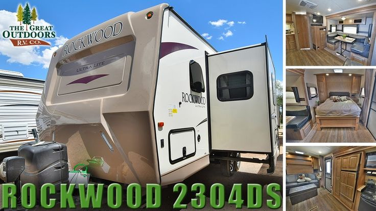 New Murphy Bed Model 2018 Rockwood Ultra Lite 2304DS R1106 Travel Traile...