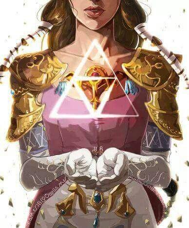 Zelda triforce wisdom power courage