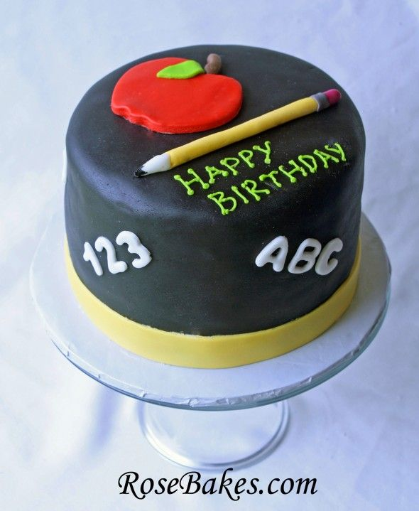 cake a chef s cake and a teacher s birthday cake teacher cakes teacher ...