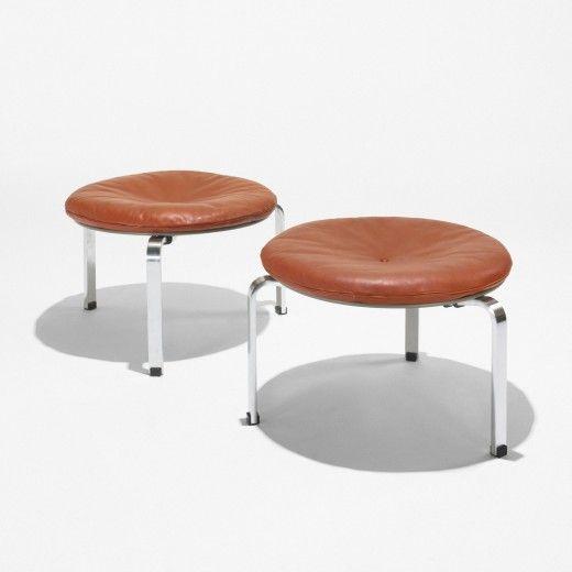 Poul Kjaerholm / PK 33 stools