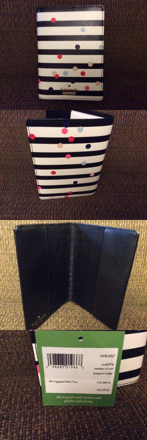 Passport Holders 169288: Kate Spade Pwru5527 Passport Holder Wallet Nwt Ret $78.00 -> BUY IT NOW ONLY: $55 on eBay!