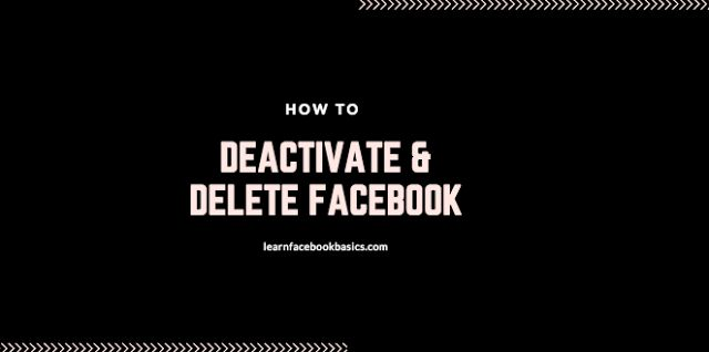 Delete OR Deactivate Facebook Account Forever Right Now - Delete My Fb Profile Permanently