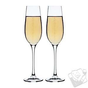 Maxwell and Williams Bubbles Galore Flutes (Set of 2) at Wine Enthusiast - $19.95