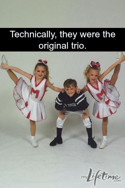 Technically the original trio was Paige, Chloe, and Josh.