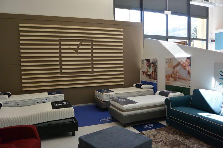 Bedding Relax Corner, uno spazio in cui potrete trovare e provareii prodotti per il riposo.