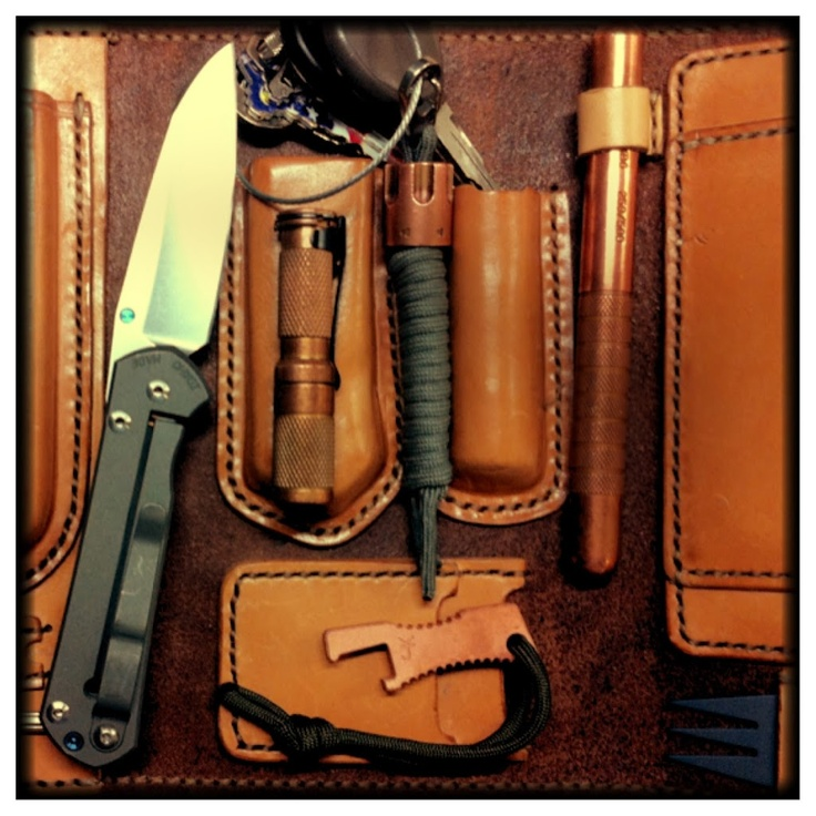 Now this is one of the best every day carry kit's I have seen.