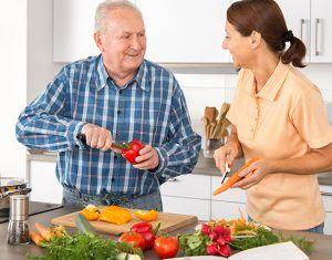 Prevent heart disease with a healthy diet. #hearthealth #senior