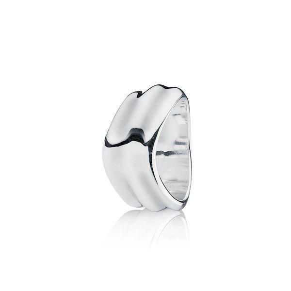 Bague Pandora-Bague Pandora En Argent Massif-Liquid Silver- €66.99