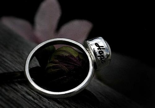 Hope ring by Pako korut.