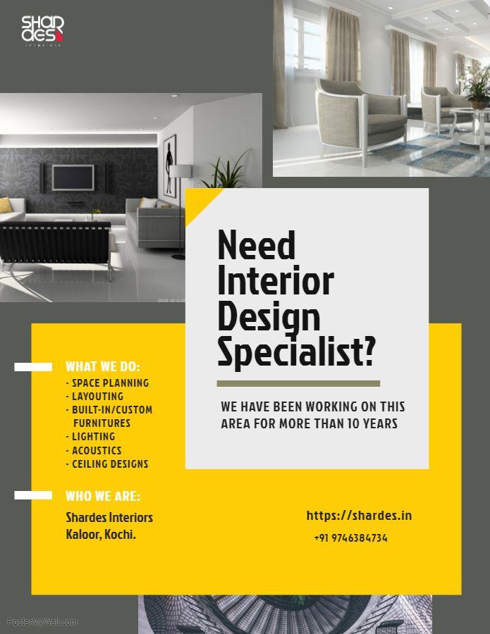 Interior Designers In Kerala Interior Design Companies Brosure Design Design