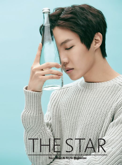 i'm thirsty..quench my thirst! (side note: i love it when Hoseok is being serious like this. He gives off that sexy af vibe)