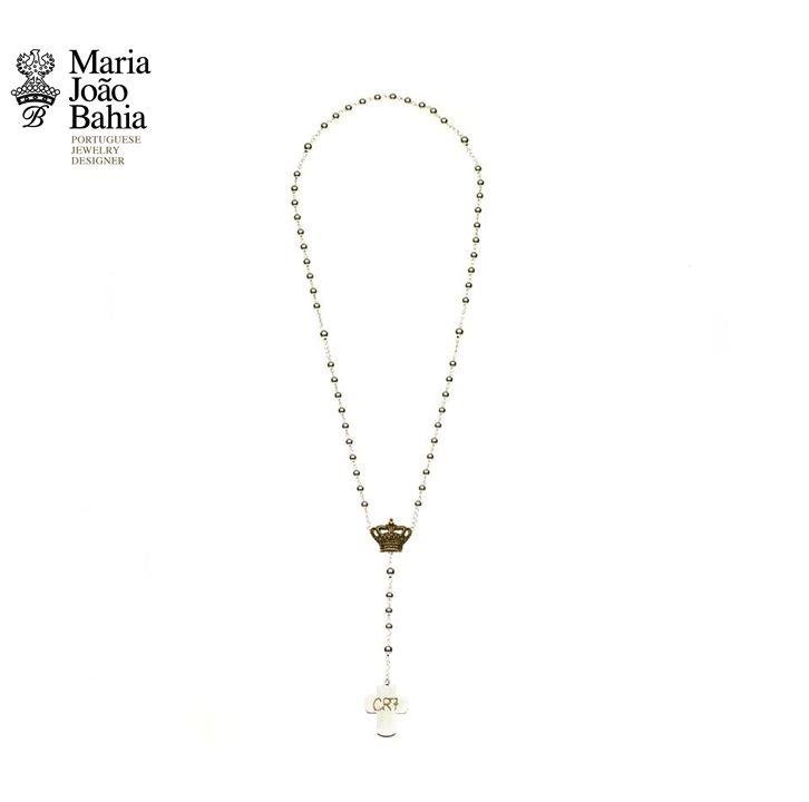 Terço em Prata da Seleção Nacional de Futebol. Um exclusivo   @Maria João Bahia #authorjewelry 'elegance is an attitude'  #joiasdeautor #30anniversarymariajoaobahia #DJWE16