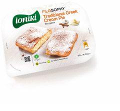 Traditional Greek Cream Pie || Ioniki Filosophy