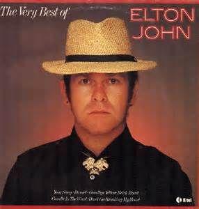 Elton John The Very Best Of Elton John (K-Tel Release).