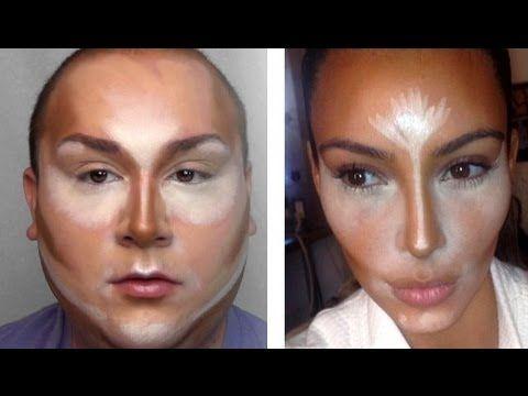 Contour à la Kim Kardashian!
