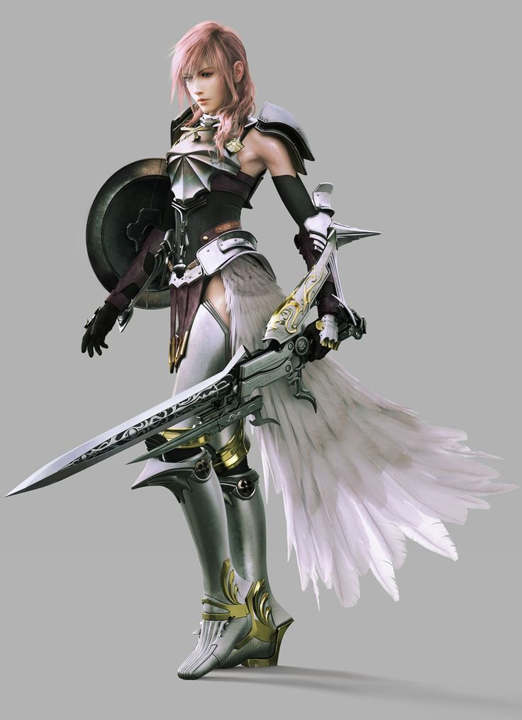 Lightning (XIII-2) Reallly want to make this outfit...