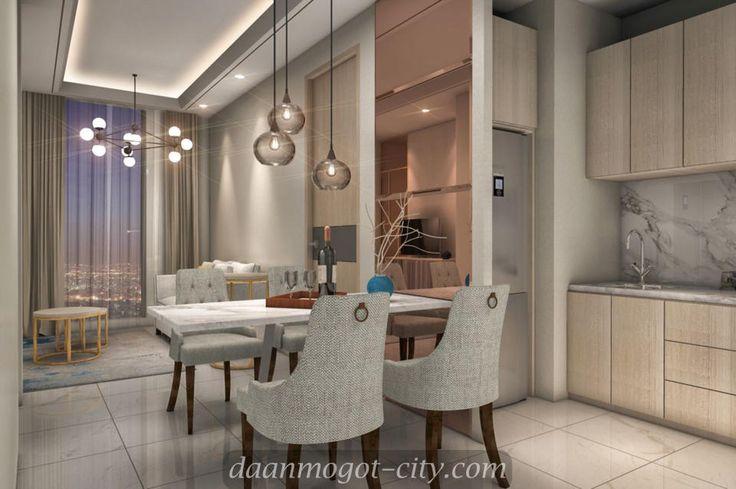 Contoh design interior apartemen Damoci Jakarta Barat
