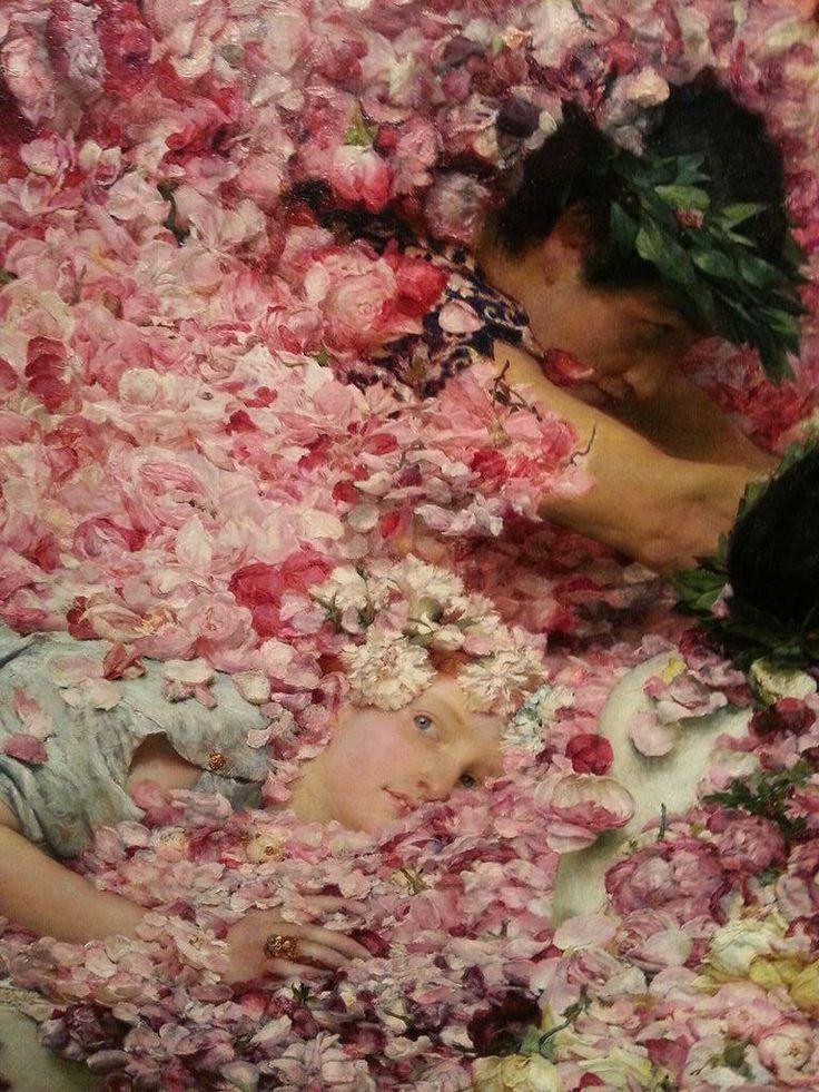 "Lawrence Alma-Tadema - Las rosas de Heliogábalo"""