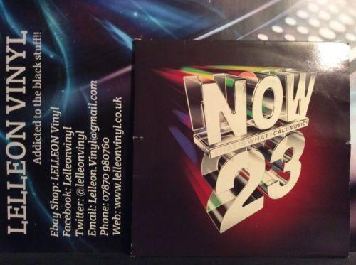 NOW 23 Double Compilation LP Album Vinyl 077778112310 90's Pop Rock Soul Dance Music:Records:Albums/ LPs:Pop:1990s