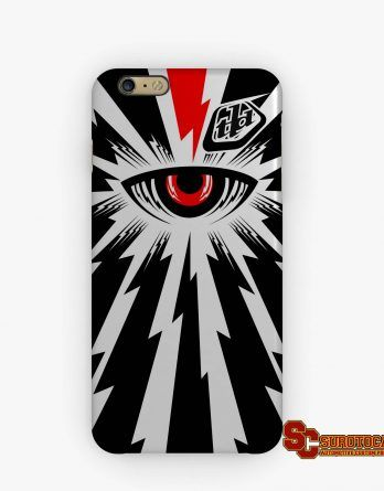 Troy Lee Designs Cyclops | Apple iPhone 5 5s 5c 6 6s 7 Plus Samsung Galaxy S4 S5 S6 S7 EDGE Hard Case Cover