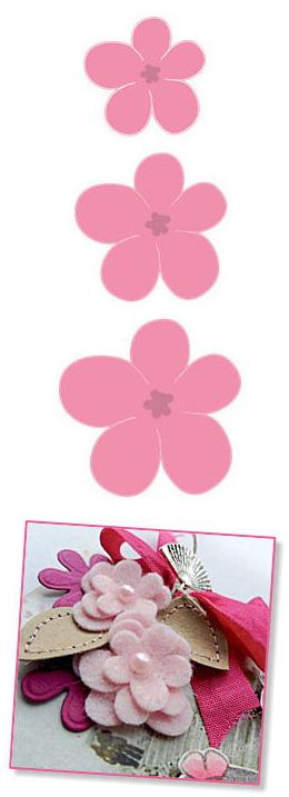 Marianne Design collection coupe Dies - Ensemble Fleur COL1323