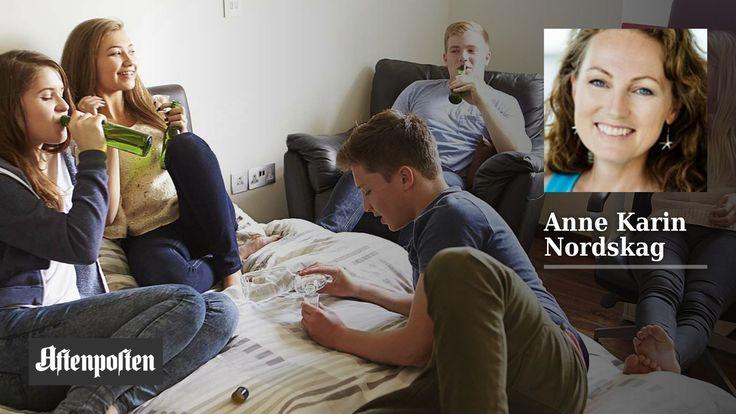Slik gikk det da jeg tok festvoldtektsamtalen med min sønn   Anne Karin Nordskag - Aftenposten