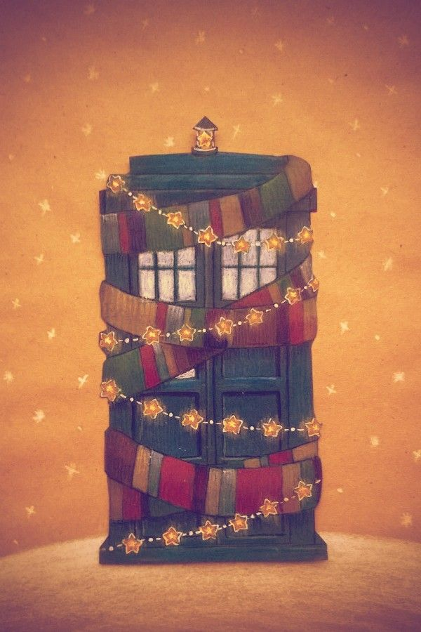 Christmas TARDIS.