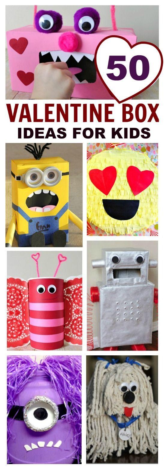 Valentine Box For Boy Idea 50