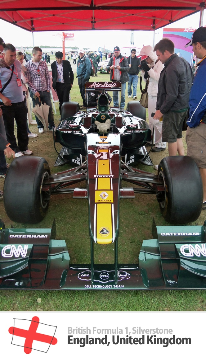 British Formula 1, Silverstone, England, United Kingdom
