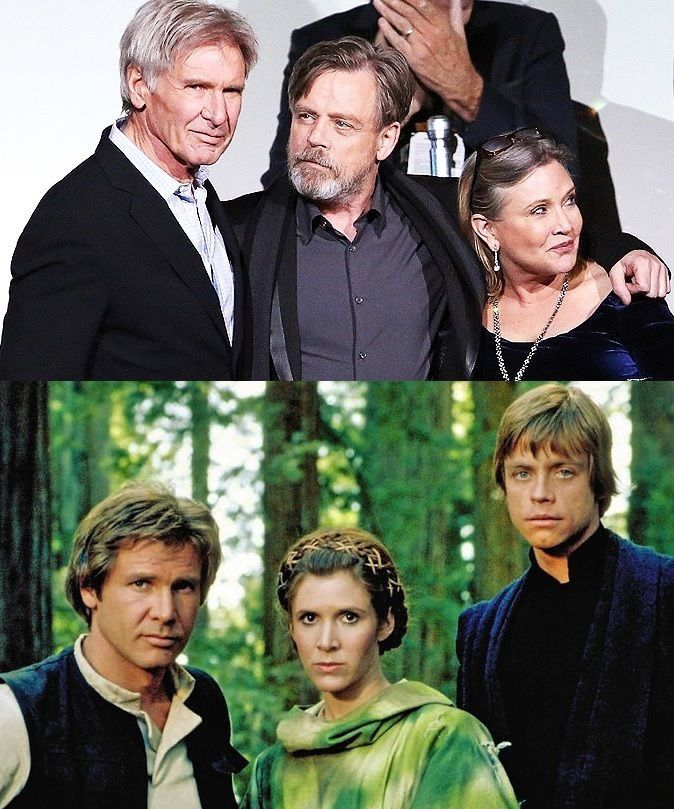 The Original Three (then and now)