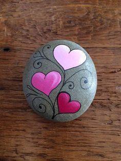 easy rock painting ideas Handpainted rock house doorstop | simple rock painting idea | easy  easy rock painting ideas
