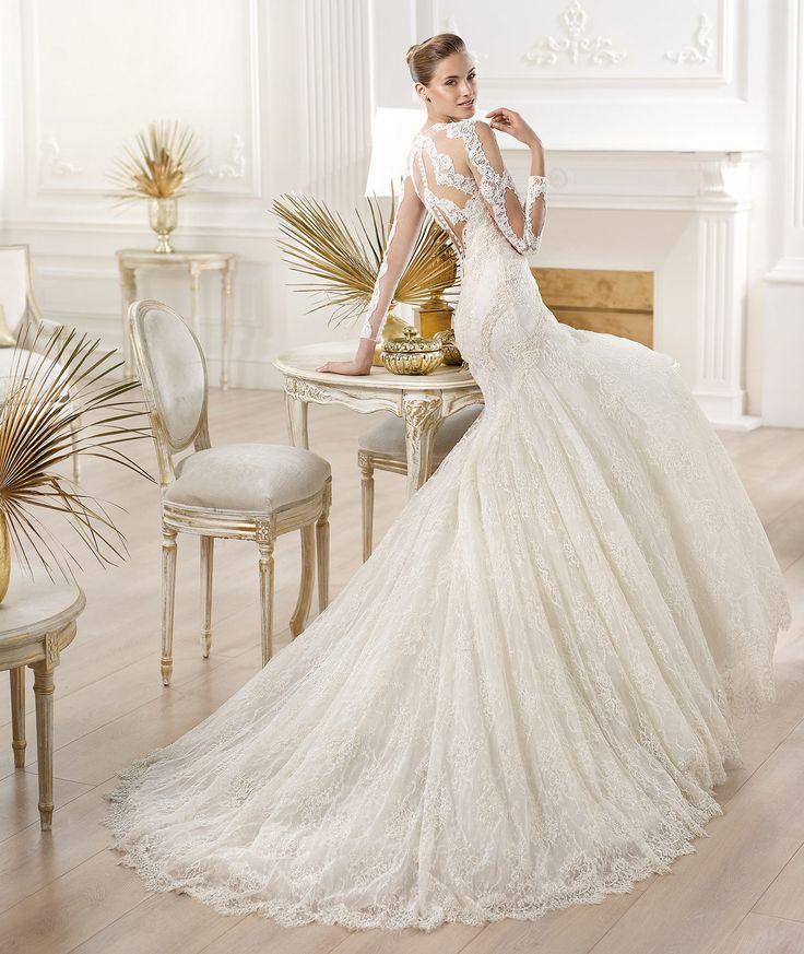 Pronovias Presents The Yana Wedding Dress Atelier 2014