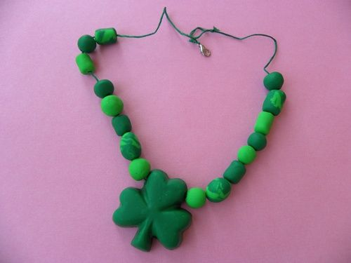 14 best CLAY. St. Patrick\'s Day images on Pinterest | Clay crafts ...