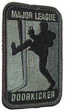 MAJOR LEAGUE DOOR KICKER US ARMY MILITARY TACTICAL MORALE ACU DARK HOOK PATCH