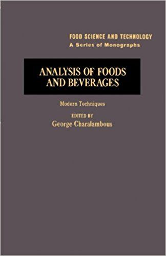 Analysis of Foods and Beverages: Modern Techniques Paperback – March 28, 1984 by George Charalambous (Editor)  #medical #books #free #download #pdf #review #residency #clinical #online #textbooks #students #pictures #book #Gastroenterology