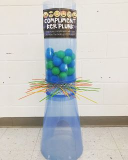 What a fun Classroom Mgmt system! Giant Kerplunk is set up in my classroom. Every time I catch my students doing something AMAZING as an entire class, I pick a student to draw a stick. The class also gets to pull a stick if they get a compliment from an administrator or another teacher. The goal is to get ALL of the balls to drop...The kids have NO clue when they will earn their reward...