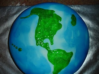 earth cake | birthday party ideas | Pinterest