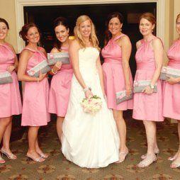 Koszorúslány kézitáska 4, Wedding bridesmaid clutches 4