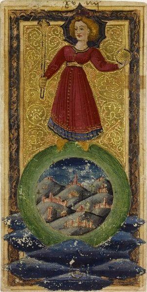 The Charles VI Tarot, The World