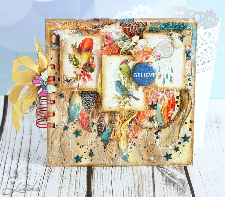 Картинки в стиле бохо для скрапбукинга, открытки апреля