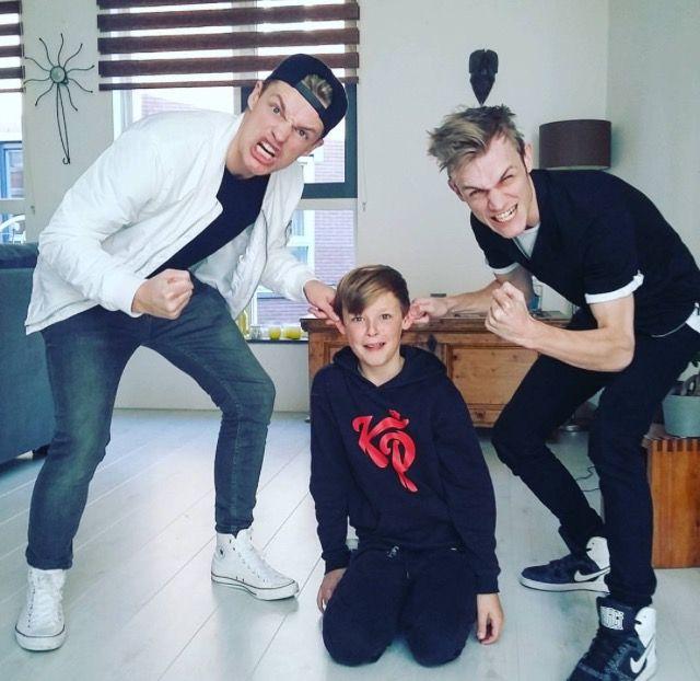 Enzo, Milan en Sjen