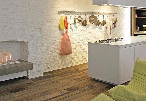 La cocina de un loft al más puro estilo neoyorquino #interiorismo y #Decoracion http://www.micasarevista.com/cocinas/cocina-blanca-luminosa…
