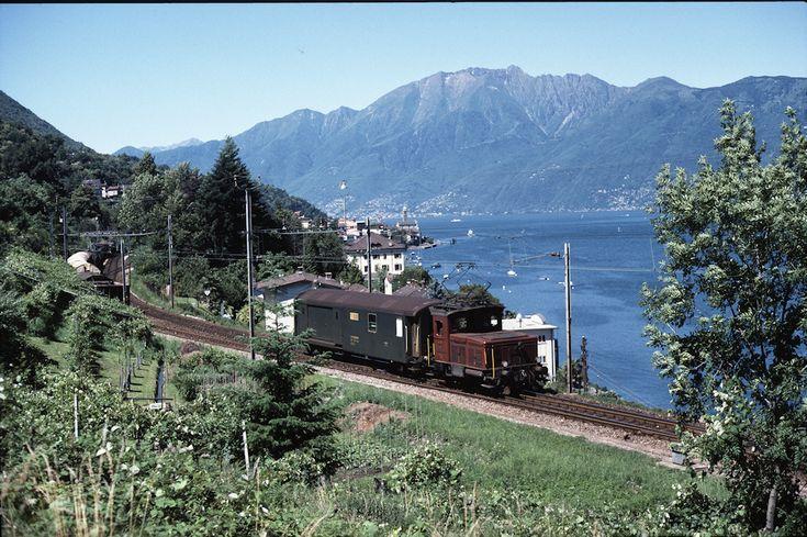 SBB Tem III 321 (27.06.1987, Magadino-Vira)