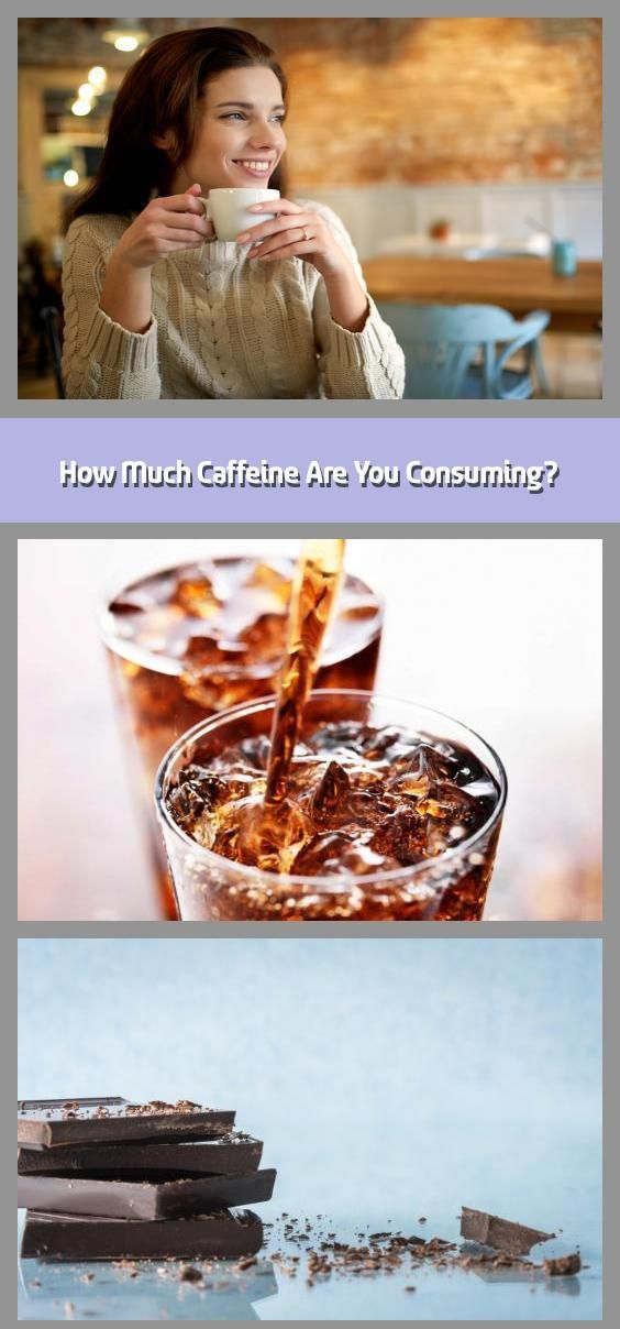 how much caffeine are you consuming  your morning coffee