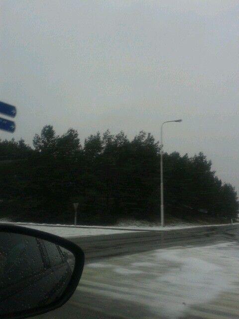 Snow in december 2014