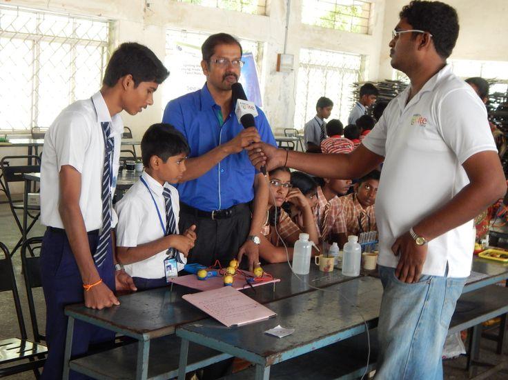 #Education #Schools #Competition #Science 10th Agni's Ignite District Level Event -Salem,05/12/2014.