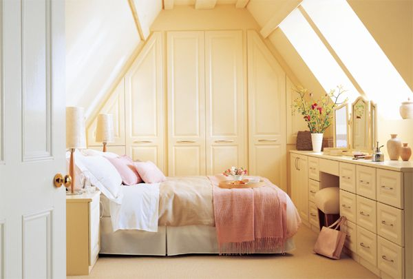 Cozy Attic Bedrooms Fitted Bedrooms Country Style Bedroom