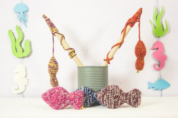More cat toys! Remember - shipping is free! Catnip cat toys  cat wand  handmade toys  by FoxyTricksforCats
