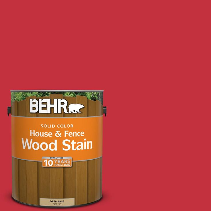 Behr exterior wood stain faceplate